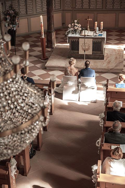 Kirchliche Trauung des Weinheimer Fotografen Pascal Dietrich