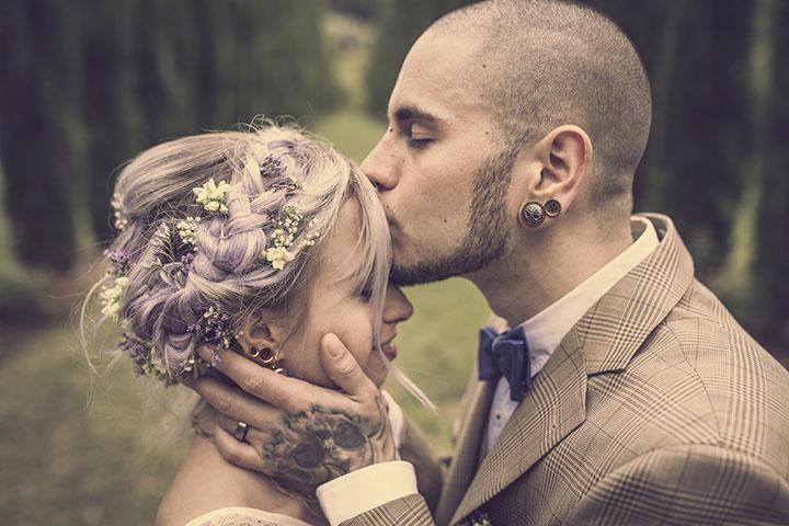 Romantisches vintage Hochzeitsbild von Hochzeitsfotograf Pascal Dietrich