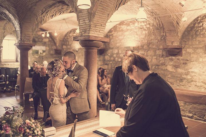 Standesamt Hochzeitsbilder im VIntage Stil